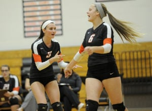 Beecher volleyball blasts past Tri-Point