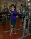 Austin Jamerson, inertia split squat