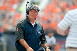 COLLEGE FOOTBALL ROUNDUP: Illini look for slow-start fix