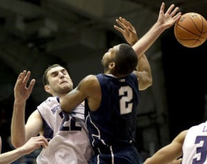 MEN'S BASKETBALL ROUNDUP: Penn State smothers Northwestern