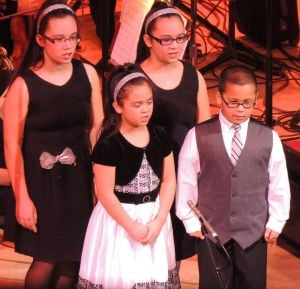 Quartet performs at holiday concert