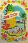 Vintage Hawaiian Dole Pineapple Advertisement