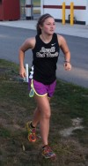 Lowell cross country runner Sarah Wieser