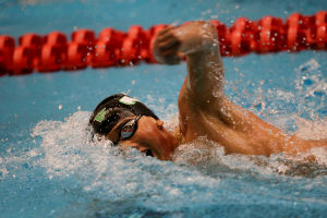 L.C.'s Homans places sixth in 50 free