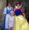 Child's wish comes true with a visit to meet Princess Belle