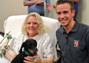 Former region residents cross paths in Oklahoma dog rescue
