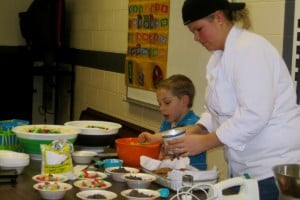 Cooking class teaches kids kitchen basics