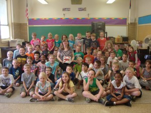 Lansing author visits Lansing Christian School