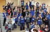 Lake Central volleyball fans