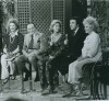"Dinah Shore, center, with Guests, left, Dolores Hope, Bob Hope, Jim Nabors and Phyllis Diller on ""Dinah!"" January 1975"