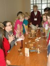 Students learn about local history