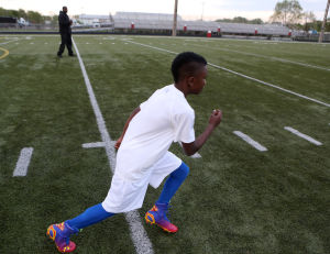 Merrillville youngster already feeling the draw to college football