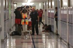 Homewood hosts school shooting drill