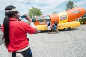Wienermobile brings excitement, memories during Portage visit