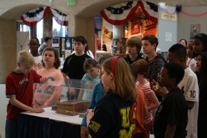 Deer Creek Christian School visits Civil War exhibit