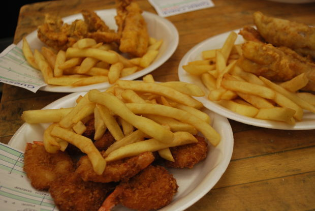 Lenten catch time to visit a local fish fry for varied for Local fish fry