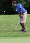 Crete-Monee's Bailey is solid around the green in invitational