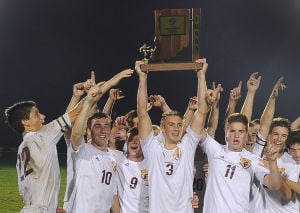 Trojans win sixth sectional title in school history with 2-0 victory over Portage