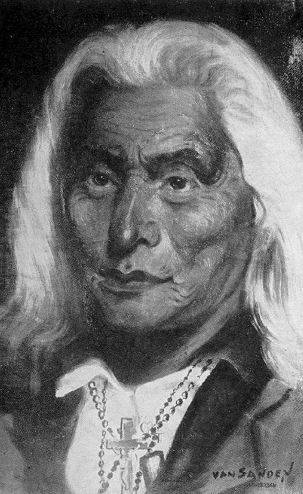 Portrait of Leopold Pokagon from nwitimes.com