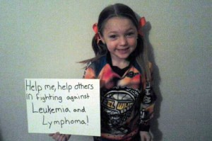 Six year-old inspires fight against leukemia and lymphoma through BMX racing