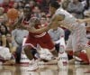 Indiana stays at No. 1 in AP Top 25 despite loss  