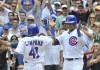 Campana helps surging Cubs top Reds