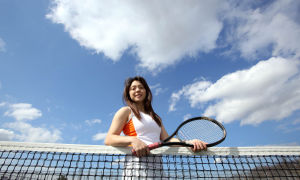 Wheeler's Garcia becomes leader of the tennis team