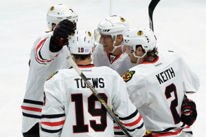 Sharp gives Hawks shootout victory