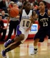 Merrillville's Dariyan Morris, Michigan City's Michal Miller