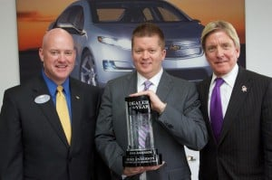 "Mike Anderson – GM's New ""Dealer of the Year"" for the second consecutive year"