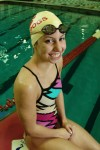 Crown Point swimmer Hannah Raspopovich