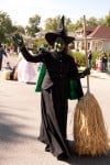 Wicked Witch of the West Costume Character Marching in 2012 Wizard of Oz Fest Parade
