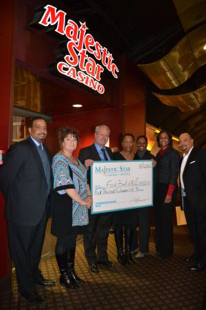 Casino donates cash to Food Bank of NWI