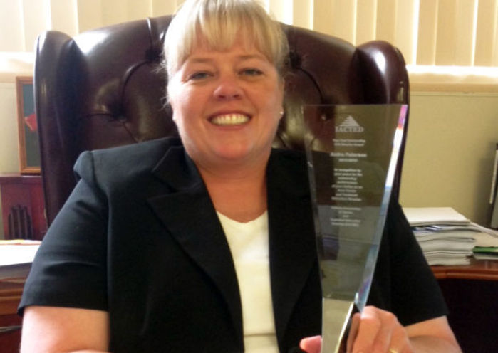 La porte county career and technology teacher recognized for Laporte county jobs