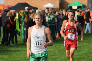 Portage girls win first regional cross country title since 1988, Valpo boys win again