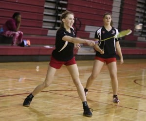 T.F. South badminton qualifies six for state meet