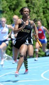 Seton Academy girls track team places five entires in Class 1A state finals