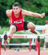 Crown Point's Troy Grady finihsed ninth in the state in the 110-meter high hurdles Saturday.
