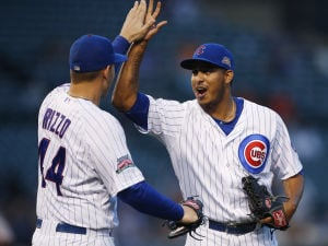 Cubs win suspended game