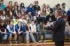 County Coroner speaks to Washington Twp. students about substance abuse