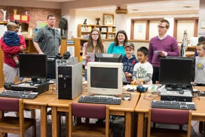 Bailly Elementary students show of projects at annual event