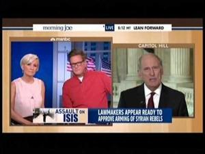 Coats on MSNBC to discuss the president's plan to defeat ISIS