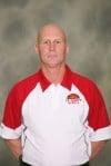 T.F. South girls basketball coach Steve Breshock