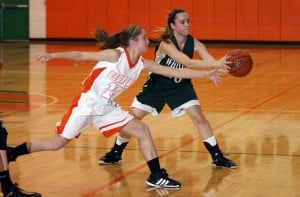 Gallery: Whiting vs Wheeler Girls Basketball