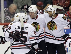 Hawks take no comfort in series lead over Wild