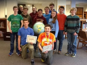 Chesterton Middle School holds geography bee: