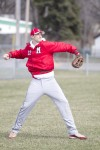 Morton pitcher Brandon Valentine