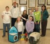 School donates to animal shelter