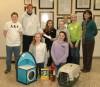 School donates to animal shelter