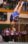 Lake Central's Andi Wartman qualified for state on floor.